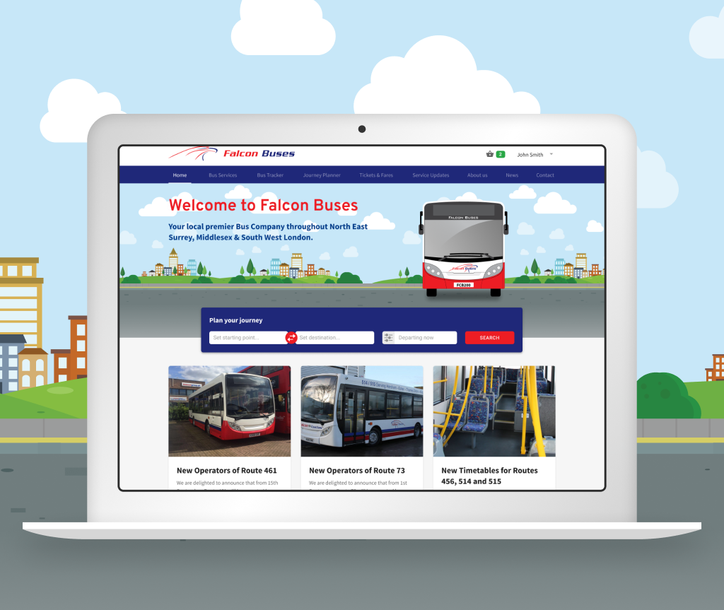 We're launching our new Falcon Buses Website!   Falcon Bus